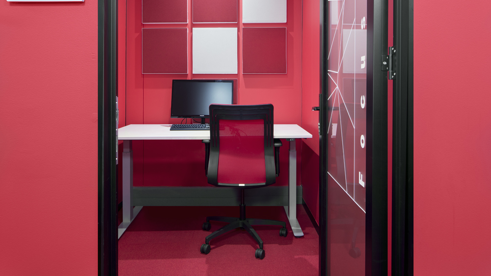 the frustrations of 'open plan'
